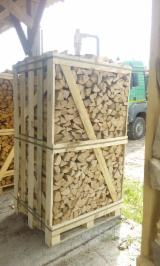 Firewood, Pellets And Residues - Birch / Black Alder / Grey Alder/ Aspen Firewood Cleaved 7-17 cm