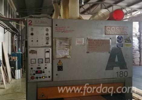 CALIBRATING-SANDER-MACHINE-WITH-MILLING-UNIT-BRAN-COSTA-LEVIGATRICI-MOD---A-180-AVV-ICT