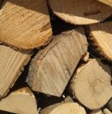 薪炭材-木材剩余物 - 劈好的薪柴-未劈的薪柴 薪碳材/开裂原木 橡木, 常见的黑桤, 白杨木