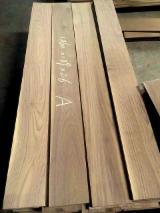 批发木皮 - 采购或销售木皮复合板 - 天然单板, 黑胡桃木, 向下锯树节
