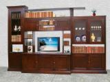 Bookcase Living Room Furniture - Contemporary Poplar Bookcase Romania