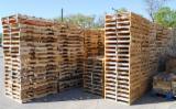 Wood Pallets - New Rubberwood / Eucalyptus One Way Pallets