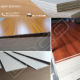 Fordaq wood market - 18 mm Red Birch Melamine Plywood for Kitchen Cabinets