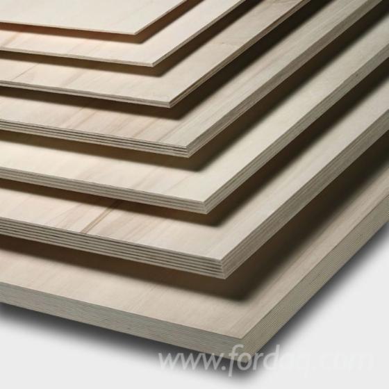 Long Grain Multilayer Poplar Plywood