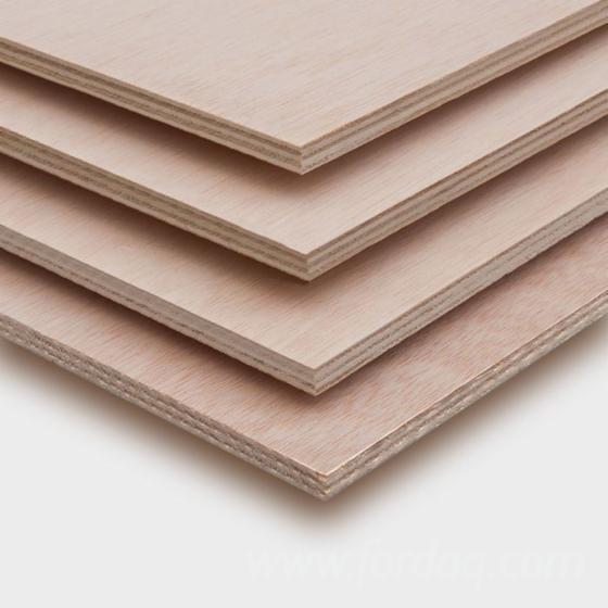 Twin Ilomba / Poplar Plywood, 3-40 mm