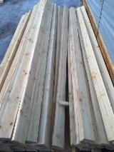 Latvia Sawn Timber - Siberian Larch Planks 30, 44 mm