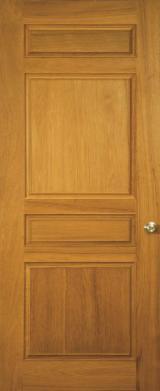 Деревні Комплектуючі, Погонаж, Двері і Вікна, Будинки - Азіатська Листяна Деревина, Двері, Деревина Масив, Тікове Дерево
