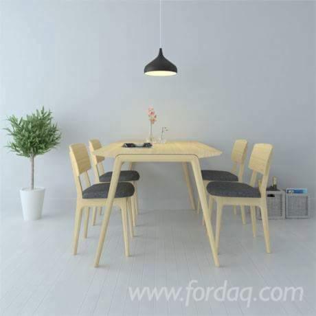 Rubberwood Dining Room Set - Furniture from Vietnam