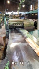 Déligneuse PAUL KM2 /750/R + séparteur de planches et Trieur de planches par gravite