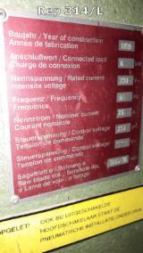 Machines, Ijzerwaren And Chemicaliën - Cirkelzaag (Combinatie Kloven/Dwarszagen), Reinhardt, Nieuw
