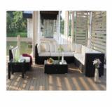 Aluminium Garden Furniture - Poly Rattan Sofa Set for Outdoors, Aluminium Frame