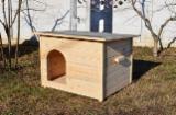 Wholesale Wood Dog House - Spruce  Dog House from Romania