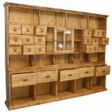 Vitrina Magazine - Mobilier farmacie din lemn masiv !