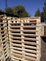 Pallets, Packaging And Packaging Timber - Any Alder / Birch / Aspen One Way Pallets