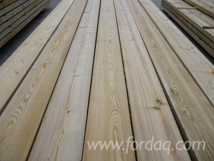Selling-KD-Siberian-Larch-Unedged-Boards