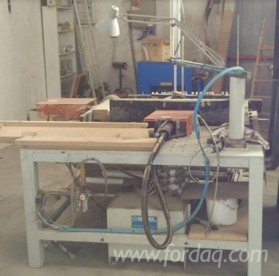 second hand automatic hydraulic assembling machine for folding