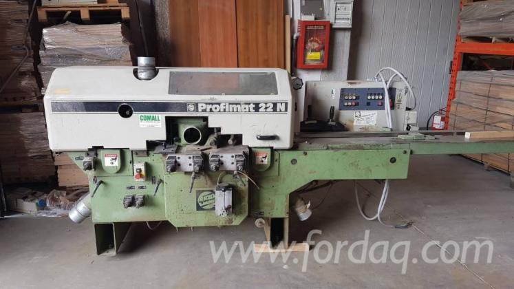 SECOND-HAND-LINEAR-MOULDER-MACHINE-BRAND-WEINIG-MOD--PROFIMAT-22N-5