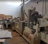 SANDING LINE 4 SIDE BRAND FMB WITH EJECTOR AND BELT CONVEYOR COME BACK
