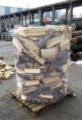 Firewood, Pellets And Residues Air Dried 12 Months - Firewood/Woodlogs Cleaved 20 cm