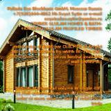 Maisons Bois à vendre en Russie - Vend Maison Bois : Madrier Empilés Mélèze De Sibérie, Pin De Sibérie, Epicéa De Sibérie Résineux Européens