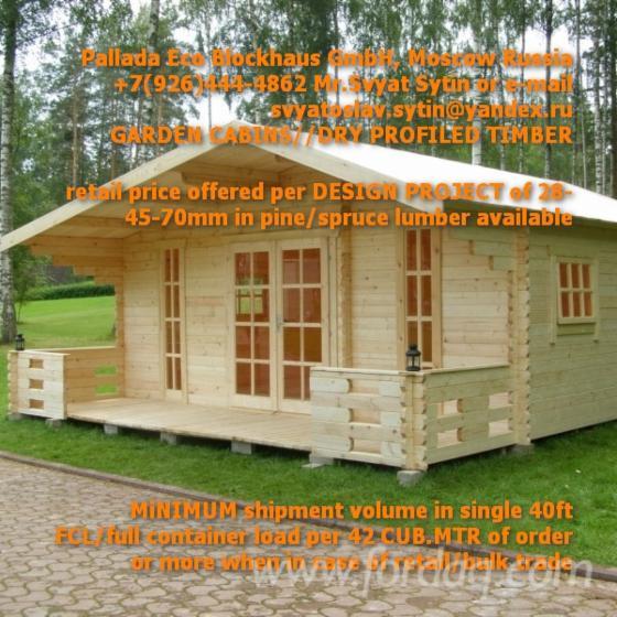 Vend Abri De Jardin Mélèze De Sibérie, Pin De Sibérie ...