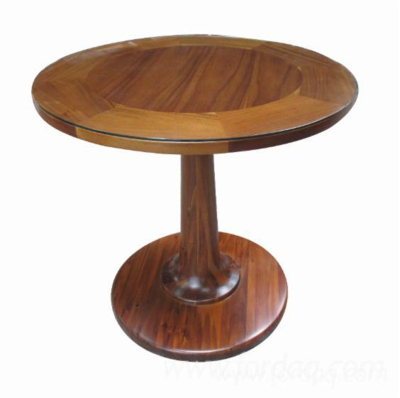 Teak Round Table for Hotel Furniture