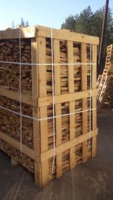 Ogrevno Drvo - Drvni Ostatci Drva Za Potpalu Oblice Necepane - Hrast Drva Za Potpalu/Oblice Necepane Ukrajina