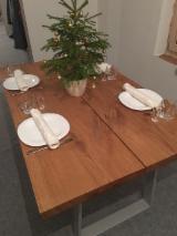 Tables - Vend Tables Rustique/Campagne Feuillus Européens Frêne Blanc, Erable, Chêne