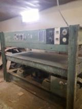 OTT Woodworking Machinery - Used OTT 2002 Press For Surface Finishing For Sale Romania
