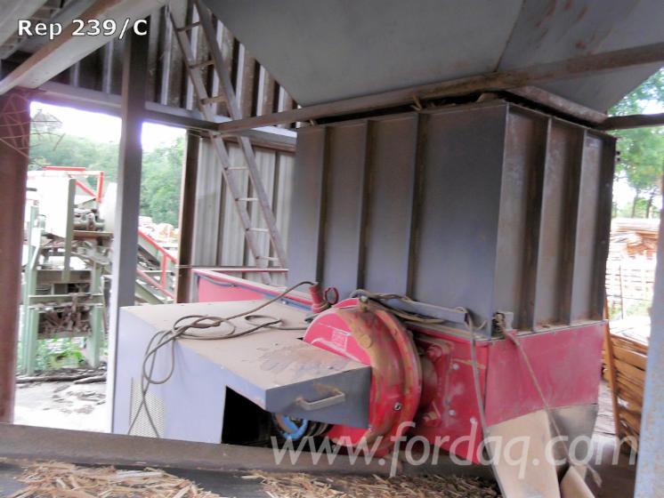 Broyeur lent pour chutes de bois papier et dérivés