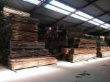 Hardwood  Unedged Timber - Flitches - Boules - Oak Boules 80 mm