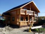 Russia - Furniture Online market - Siberian Pine Square Milled Log Houses