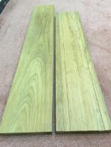 柚木, 真空干燥, 企口地板-拼花地板