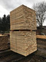 捷克 - Fordaq 在线 市場 - 云杉-白色木材, 0,9 - 90 m3 per month