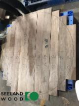 1 Schicht Massivholzplatten, Walnuss