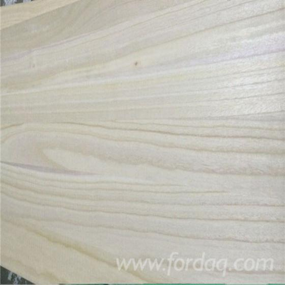 1 Schicht Massivholzplatten, Paulownia