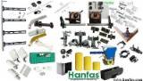硬件和配件 - 塑料,PVC等