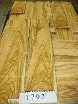 Wholesale Wood Veneer Sheets - Olive Flat Cut, Plain Natural Veneer
