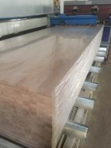 null - 1 Schicht Massivholzplatten, Buche, Eiche
