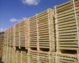 Paletten, Kisten, Verpackungsholz Zu Verkaufen - Sibirische Kiefer, 200 - 1000 m3 pro Monat