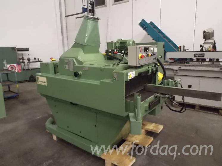 Used-COSMEC-SM-320-1999-Gang-Rip-Saws-With-Roller-Or-Slat-Feed-For-Sale