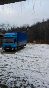 Oprema Za Šumu I Žetvu Kamion Za Prevoz Kraćih Stabala - Kamion Za Prevoz Kraćih Stabala MAN Polovna Rumunija