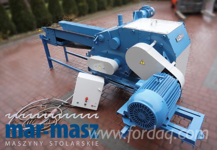Rębak / Дробарка KLOCKNER 120x400 B2WT, машина для дроблення деревини