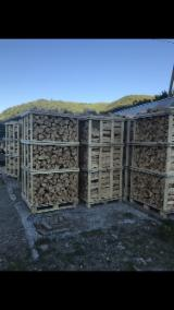 Firewood, Pellets And Residues Firewood Woodlogs Cleaved - Beech Firewood 30, 45 cm