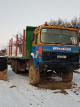 null - Kamion Za Prevoz Kraćih Stabala -- Polovna Rumunija