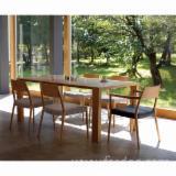 Venta B2B De Mobiliario De Comedor - Vea Ofertas Y Demandas - Venta Conjuntos De Comedor Diseño Madera Dura Norteamericana Roble Blanco Hokkaido Japón