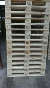Pallets, Packaging And Packaging Timber - New Pine / Spruce Euro Pallets