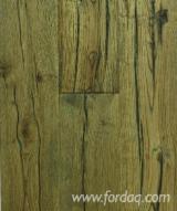 Vloeren Planken En Buitenvloeren Terrasplanken - Eik, CE, Plaat Van Een Strook Breed