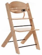 Buy wood on Fordaq - Register for free to see inquiries - Kids Beech High Chairs