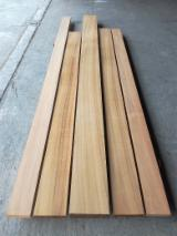 Hardwood  Sawn Timber - Lumber - Planed Timber For Sale - Teak Strips S4S 25 mm